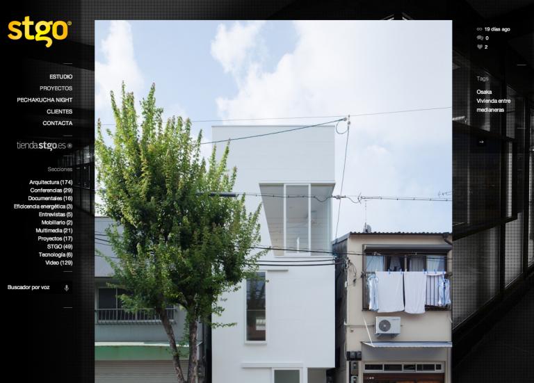 stgo.es「玉津の住宅 / house in tamatsu」掲載
