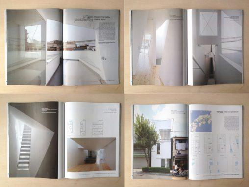 ai architecture of israel 92号「玉津の住宅 / house in tamatsu」掲載