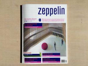 ルーマニアの建築・デザイン誌 Zeppelin magazine No.128「玉津の住宅 / house in tamatsu」掲載